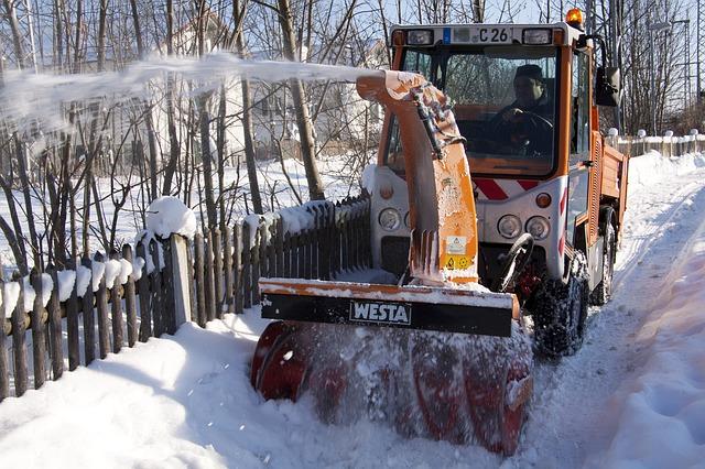 Winterdienst schnee und eis
